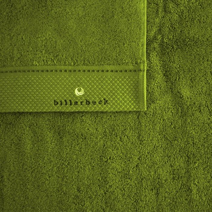 Toszkán zöld törölköző