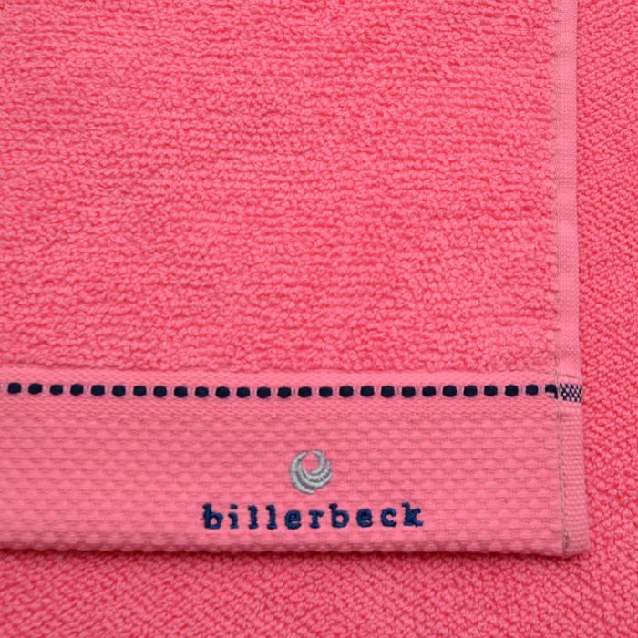 Babarózsa rózsaszín törölköző