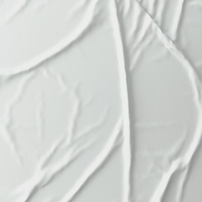 Elegante gumis lepedő – Fehér