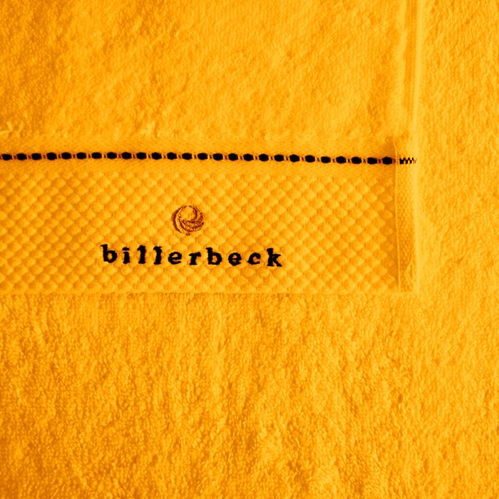 Sáfrány sárga törülköző