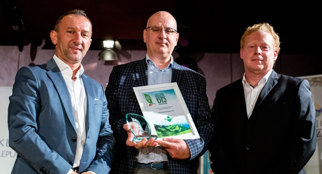 billerbeck Ozone zöld díj
