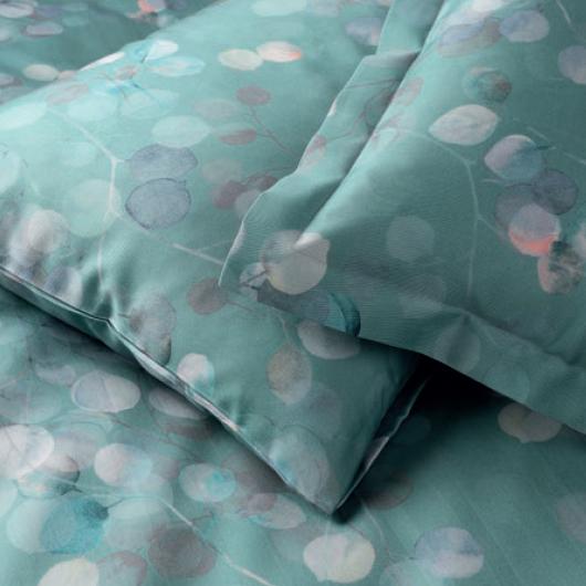 Elegante Eukalyptus ágyneműhuzat-garnitúra-Mint