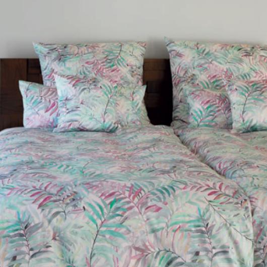 Elegante Palm Leaves ágyneműhuzat-garnitúra-Pink