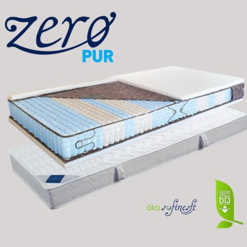 Padova élkeretes, nagy rugósűrűségű tasakrugós matrac