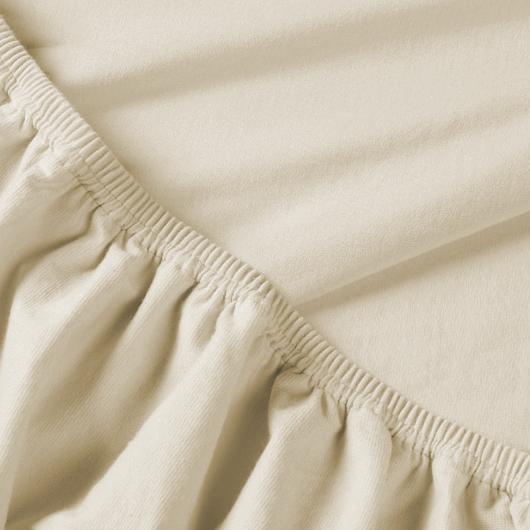 Billerbeck REBEKA elasztikus jersey lepedő – Panna Cotta