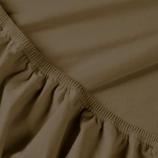 Billerbeck REBEKA elasztikus jersey lepedő – Brownie